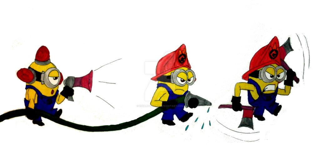 fire minion fighters by inkartwriter on deviantart