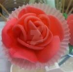 My FIRST Fondant Rose! by InkArtWriter