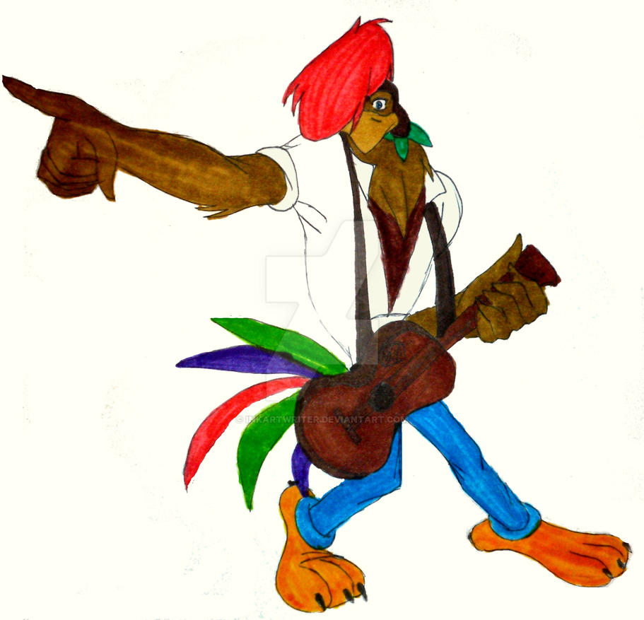 Rock a doodle by inkartwriter on deviantart for The chanticleer