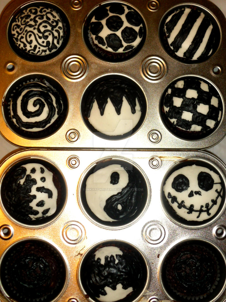 Inked Icing Cupcakes 1 by InkArtWriter