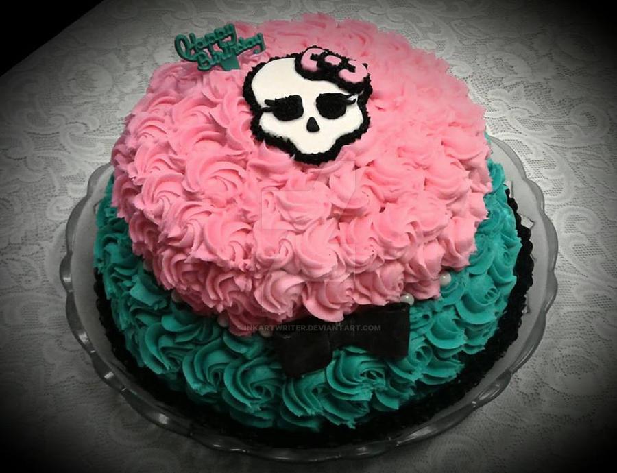 Monster High Cake By Inkartwriter On Deviantart