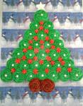 Christmas Tree Cupcakes by InkArtWriter