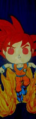 Pop Figure Bookmark - Super Sayian God Bookmark