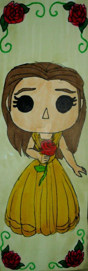 Pop Figure Bookmark - Belle