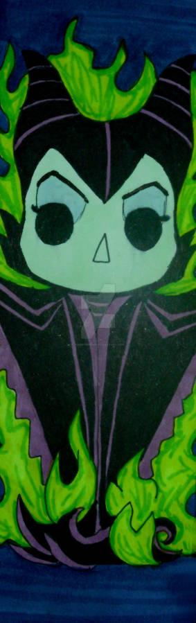 Pop Figure Bookmark - Maleficent