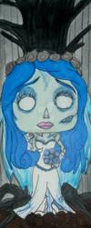 Pop Figure Bookmark - Emily by InkArtWriter