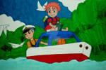 The Adventure of Ponyo by InkArtWriter