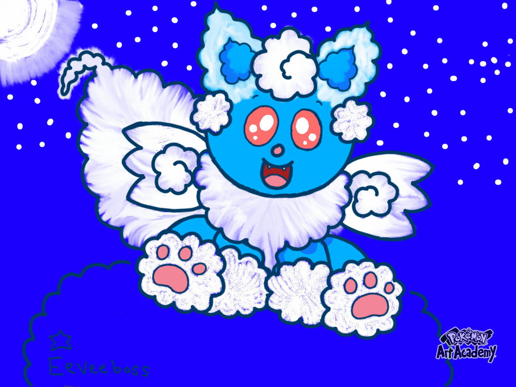 Dreameon. Dream Pokemon. (Original Pokemon)