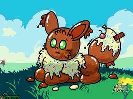 Cookie The Ice Cream Balloon Eevee