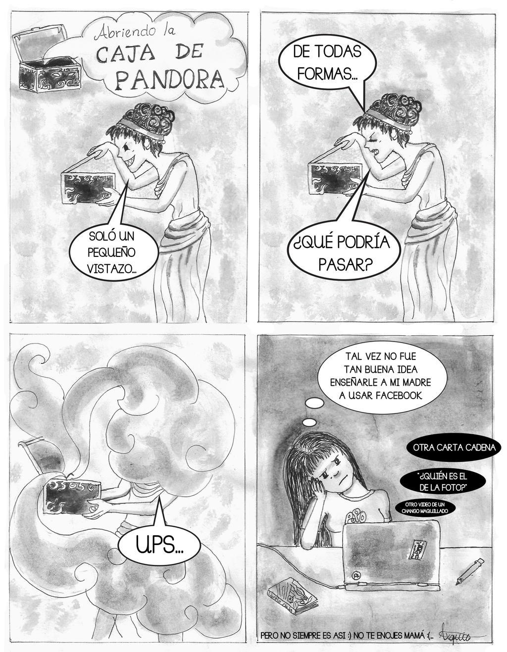 Abriendo La Caja De Pandora By Otramorra On Deviantart