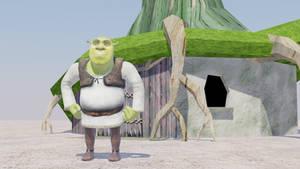 Shrek and His Swamp