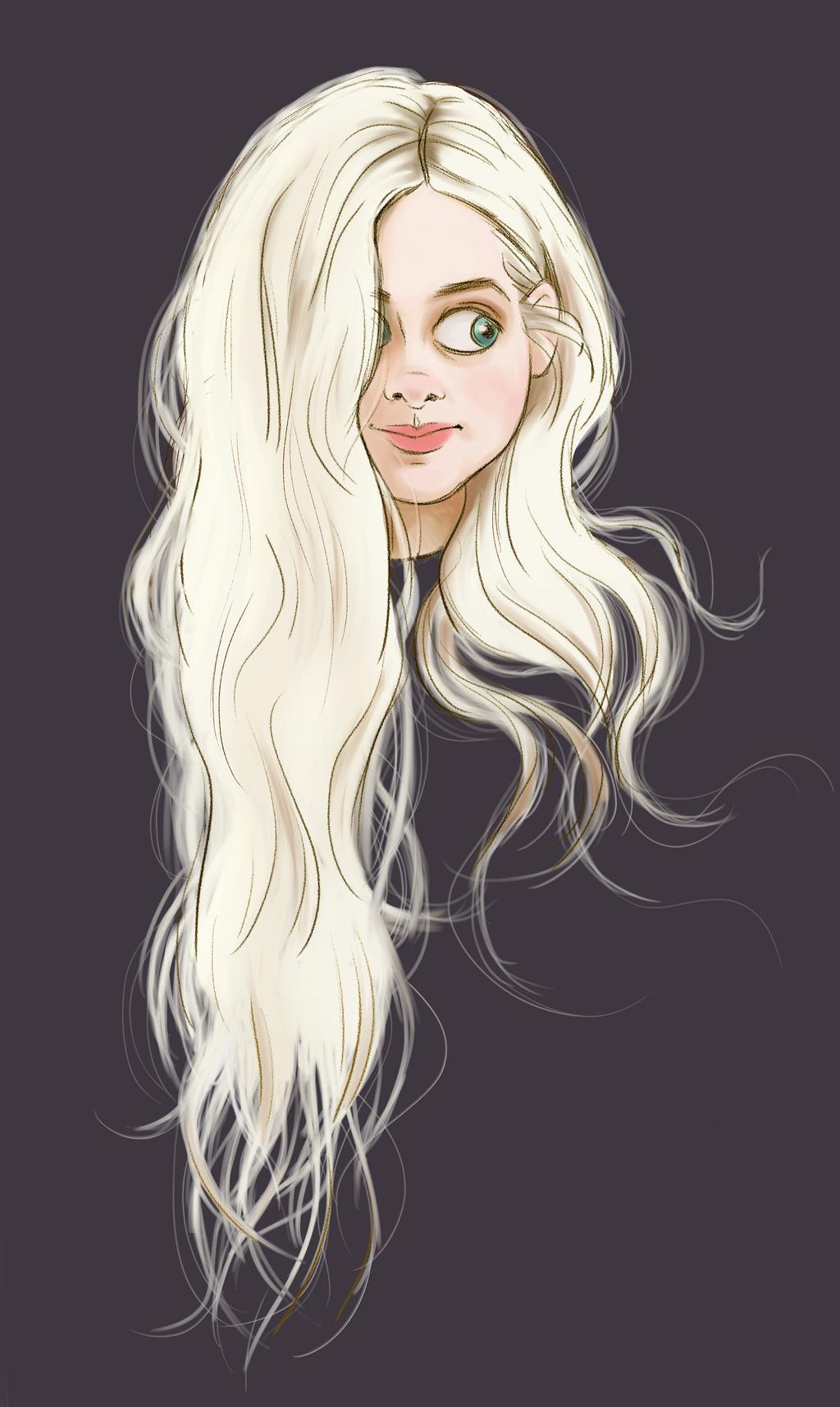 White Hair By DylanBonner On DeviantArt