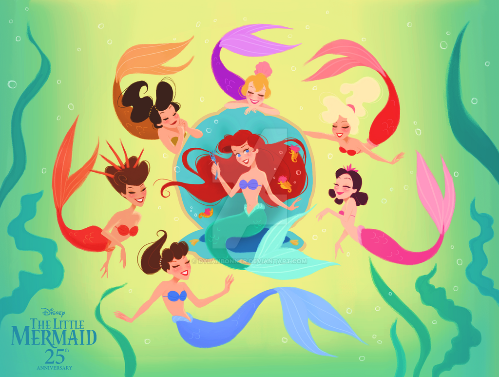 The Little Mermaid 25th Anniversary by DylanBonner