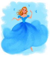 Cinderella - Ballgown by DylanBonner