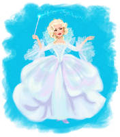 Cinderella - Fairy Godmother by DylanBonner