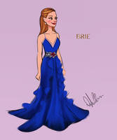 Brie at the Oscars by DylanBonner