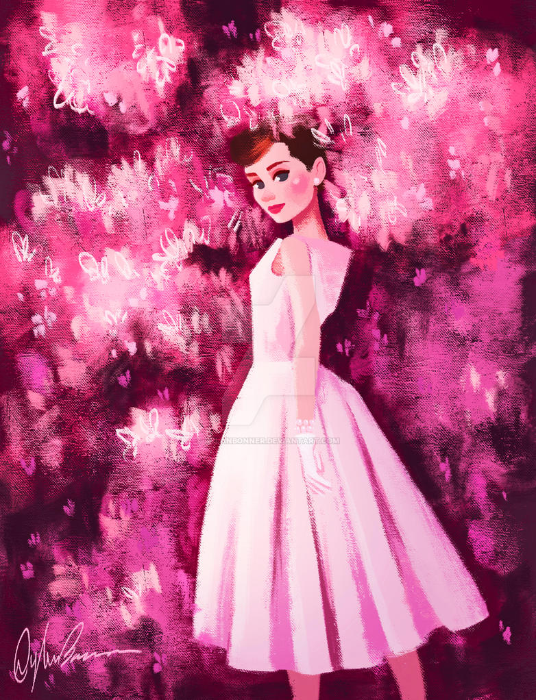 Audrey hepburn birthday tribute pink flowers by dylanbonner on audrey hepburn birthday tribute pink flowers by dylanbonner mightylinksfo
