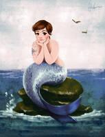 Lena Dunham - Urban Mermaid by DylanBonner