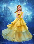 Emma Watson as Belle - Beauty and the Beast 2017