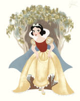 Snow White and the Seven Dwarfs - Anniversary by DylanBonner