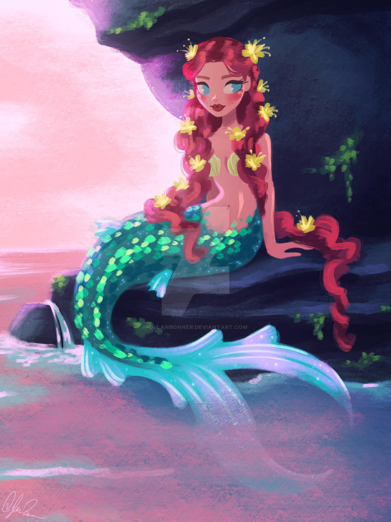 Imagine being a real mermaid | Try mermaid | Modelling