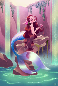 Mermaid with Comb