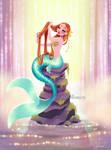 Mermaid in Her Lagoon