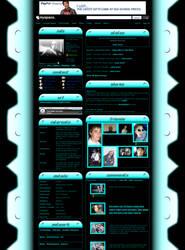 Simple Techish MySpace Default by michaelsboost