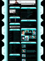Simple Techish MySpace Default by michaelsboost