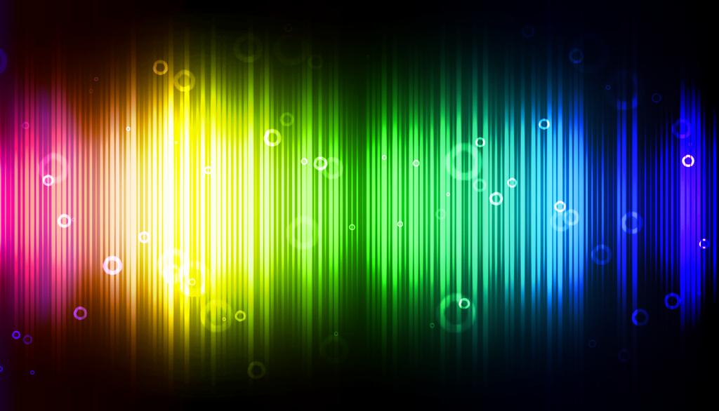 rainbow wave length wallpapers - photo #14