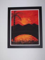 Sunset in Jamaica by sheik-zelda