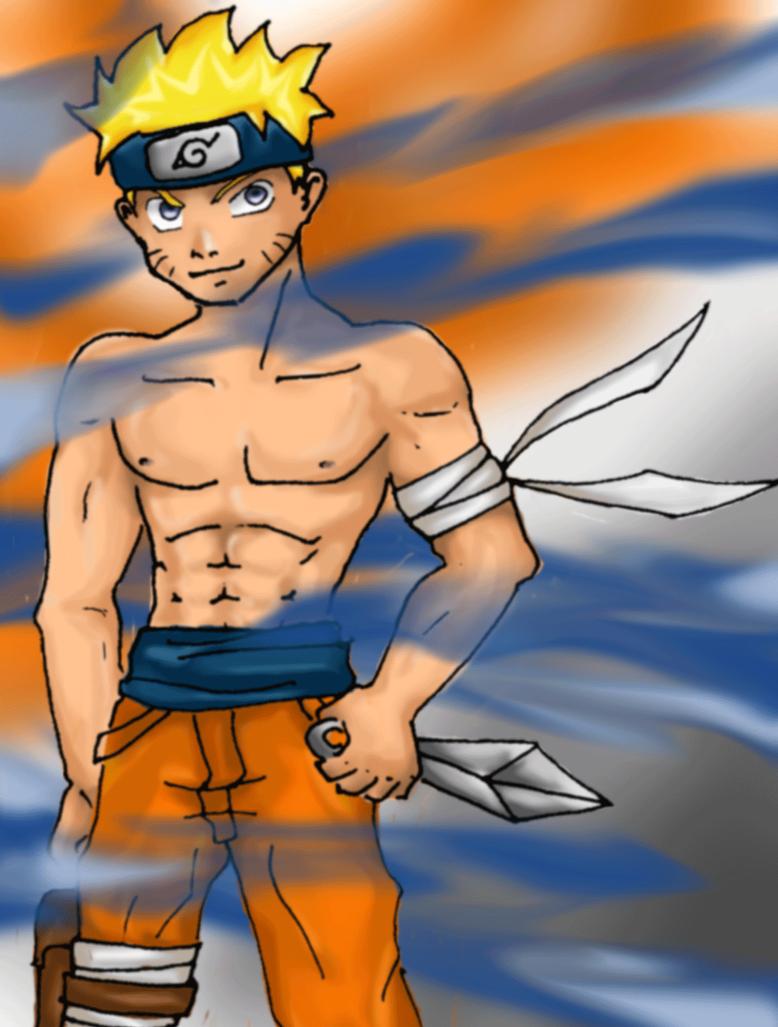 Naruto shirtless Aaaaahhh by PMRB on DeviantArt