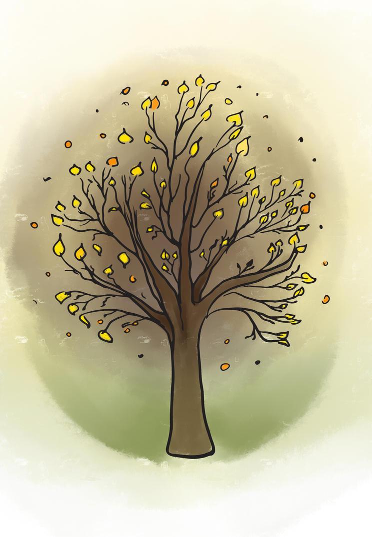 Tree by ElwenNoriel