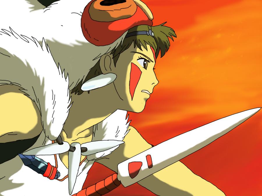 San Princess Mononoke by Quaduzi on DeviantArt