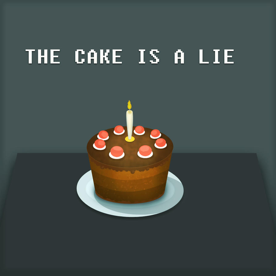 The Cake Is A Lie Portal