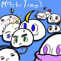 Mochi Mochi Mochi Time by BaileyDelRosa