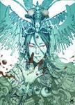 Project: K.O. Close-up of TheThree-Eye God.