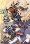 OC final: Chimera Girl. Project: K.O. by xinillus
