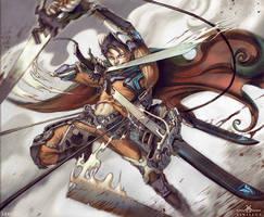 Scifi Levi, Attack on Titan Fan art by xinillus