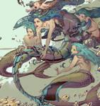 Mermay challenge: Cyborg Mermaid