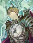 Nova, Main Character for Manga Source.