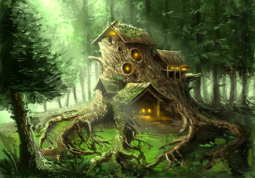 Magic Wood By Airarty On Deviantart