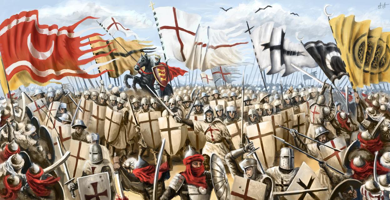 perang salib crusade war