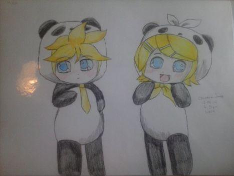 Ren And Len by BlueFluttershy