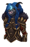 Commission: Mu`Sha druidess by Mimssi