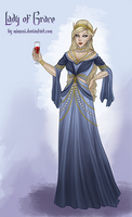 Commission: Lady of Grace by Mimssi