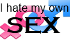 I hate my own sex stamp by Tough-and-Heartless
