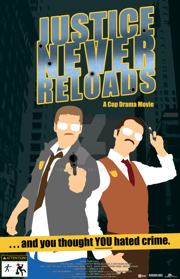 Justice Never Reloads by genecapone