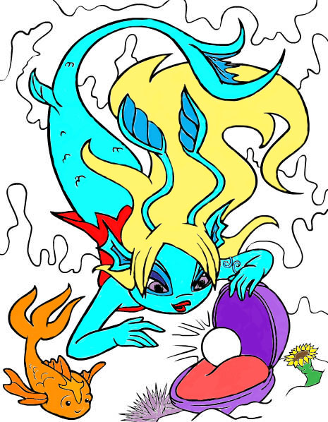Neopets Mermaid By Paco-es-Tacos On DeviantART