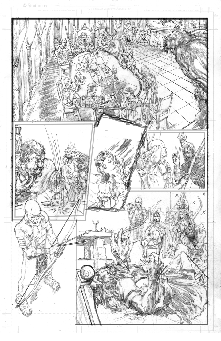 Magena page 5 pencils by billyjimbo